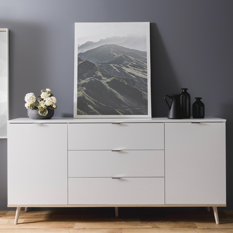 Kommode Weiß Mit Holz 2021