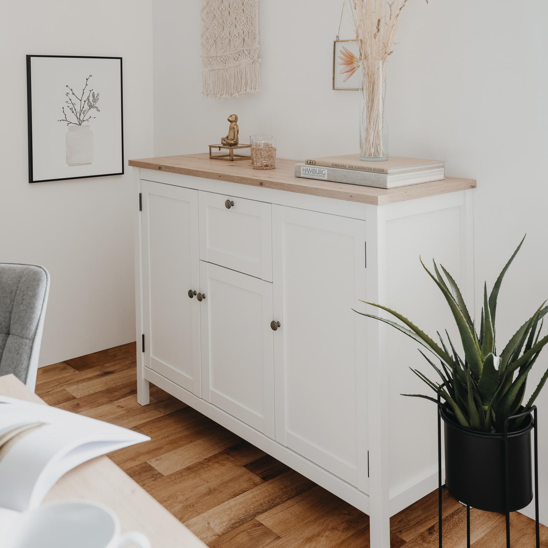 Ihr 24h Gartenmobel Shop Sideboard Kommode Wohnzimmerschrank Holz