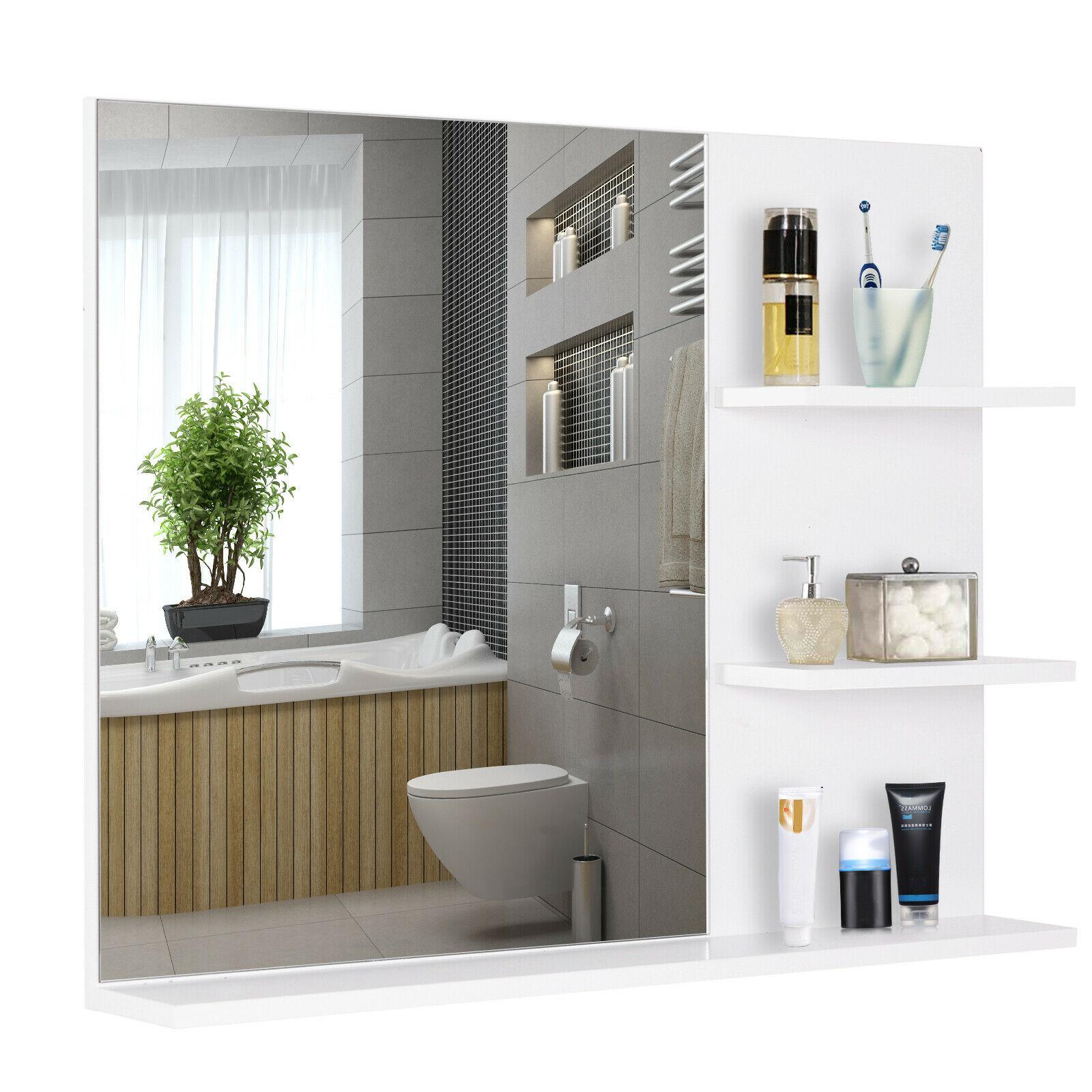 Ihr 24h-Gartenmöbel-Shop |Badspiegel mit 3 Ablagen ...