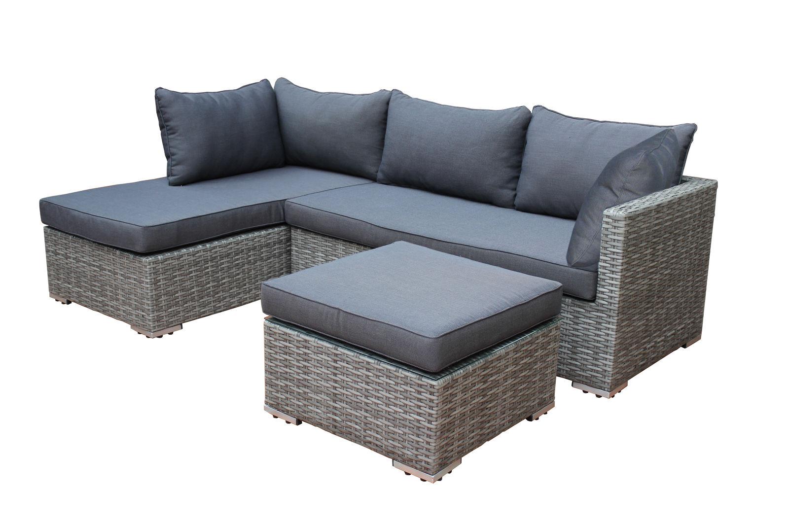 Lounge Set Dunkelgrau