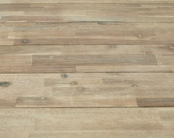 "Garnitur MARSA 5-teilig, Geflecht + Akazien Holz ""Brushed Wash"""